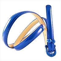Ремень LEMON Синий лаковый 0029zh-1,5kz