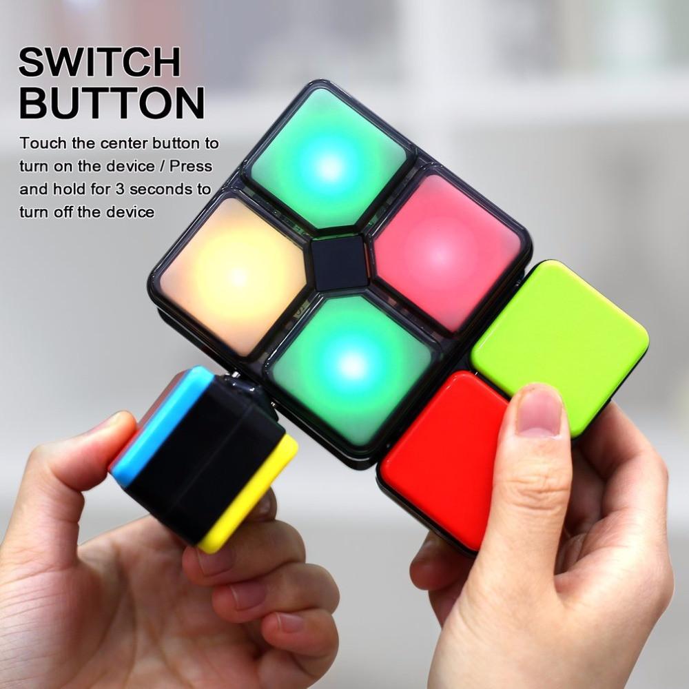 Логічний куб музика, світло, 4 режиму 3666, кубик музичний логіка