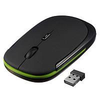 Тонкая беспроводная компьютерная мышка для ноутбука, фото 1