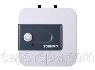 Водонагреватель ( Бойлер ) электрический TOSHIRO WSB EHU 10 над мойкой
