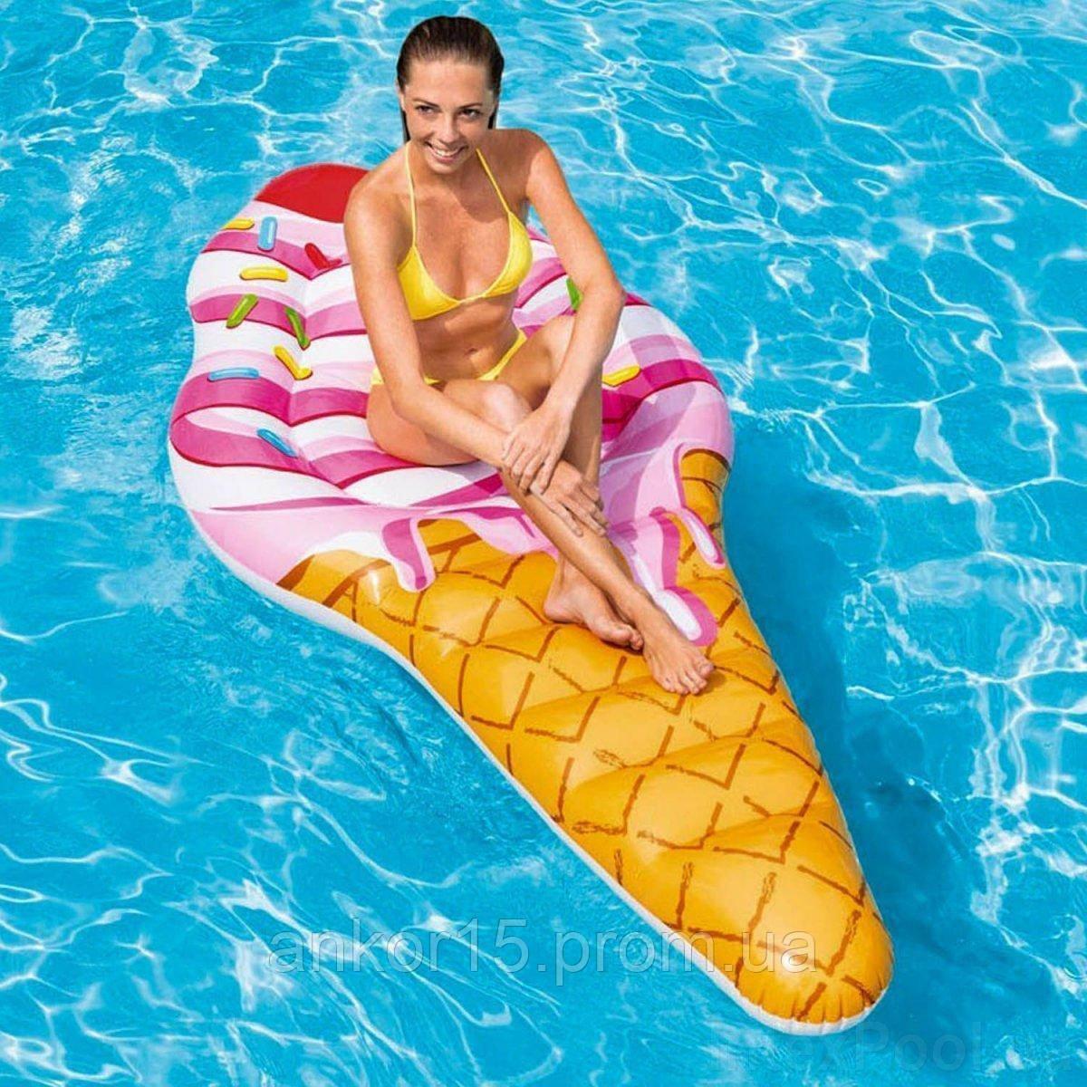 Надувной матрас - плот Intex 58762 EU Мороженое рожок