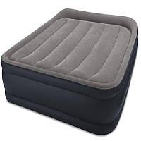 Надувная кровать Intex 64132 (99 х 191 х 42 см) со встроенным электронасосом