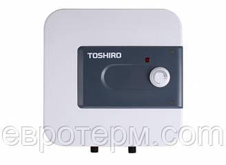 Водонагреватель ( Бойлер ) электрический TOSHIRO WSB EH 15 над мойкой