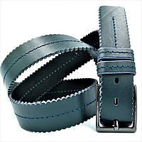 Ремень мужской кожаный Weatro Тёмно-зелёный 0364m-4kozh