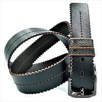 Ремень мужской кожаный Weatro Тёмно-коричневый 0372m-4kozh