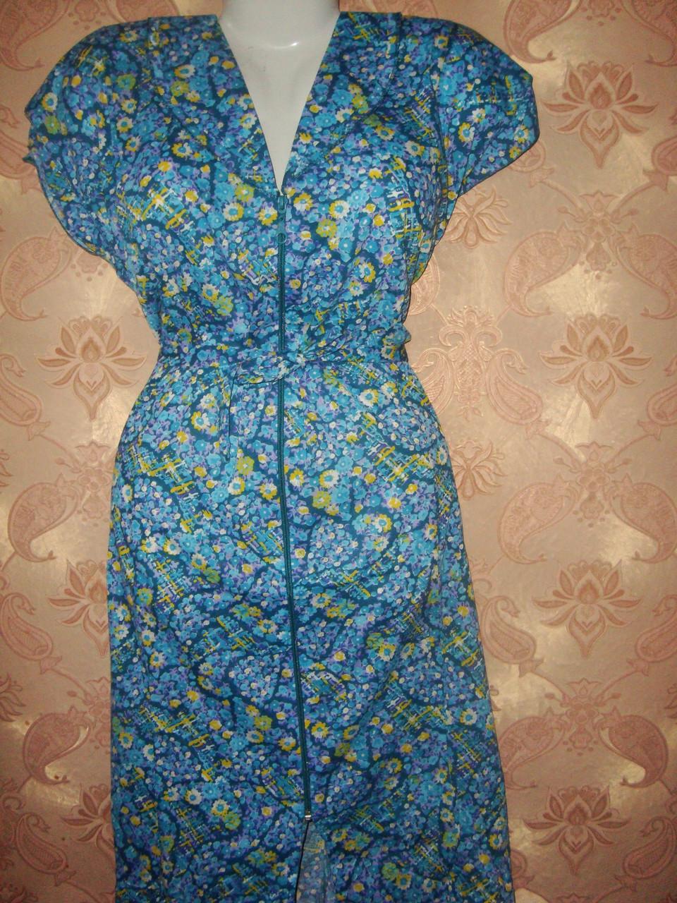 Домашние женские летние халаты