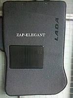Текстильные коврики в салон для  ВАЗ 2114