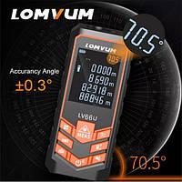 Лазерный дальномер Lomvum LV 66U дальностью 40 метров оригинал! лазерная рулетка