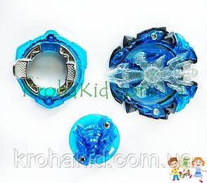 BeyBlade Xeno Xcalibur B-00 / Бейблейд Экскалибур синий/ледяной (синий с черным) S3, фото 2