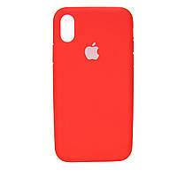 Чехол Original Full Cover Apple iPhone XR Красный