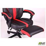 Крісло VR Racer Edge Iron чорний/червоний, фото 6