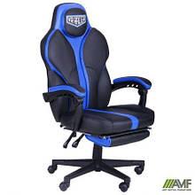 Кресло VR Racer Edge Titan черный/синий
