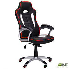 Кресло Драйв 2 черный/белый