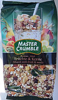 Мюсли Master Crumble Muesli with fruit & seeds, 750g