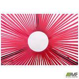 Стіл Agave чорний, ротанг рожевий, фото 8