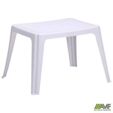Столик Elba 64*53 пластик белый 01