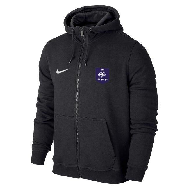 b29e8af1 Мужская спортивная толстовка (кофта) сборной Франции-Найк, France, Nike,  черная