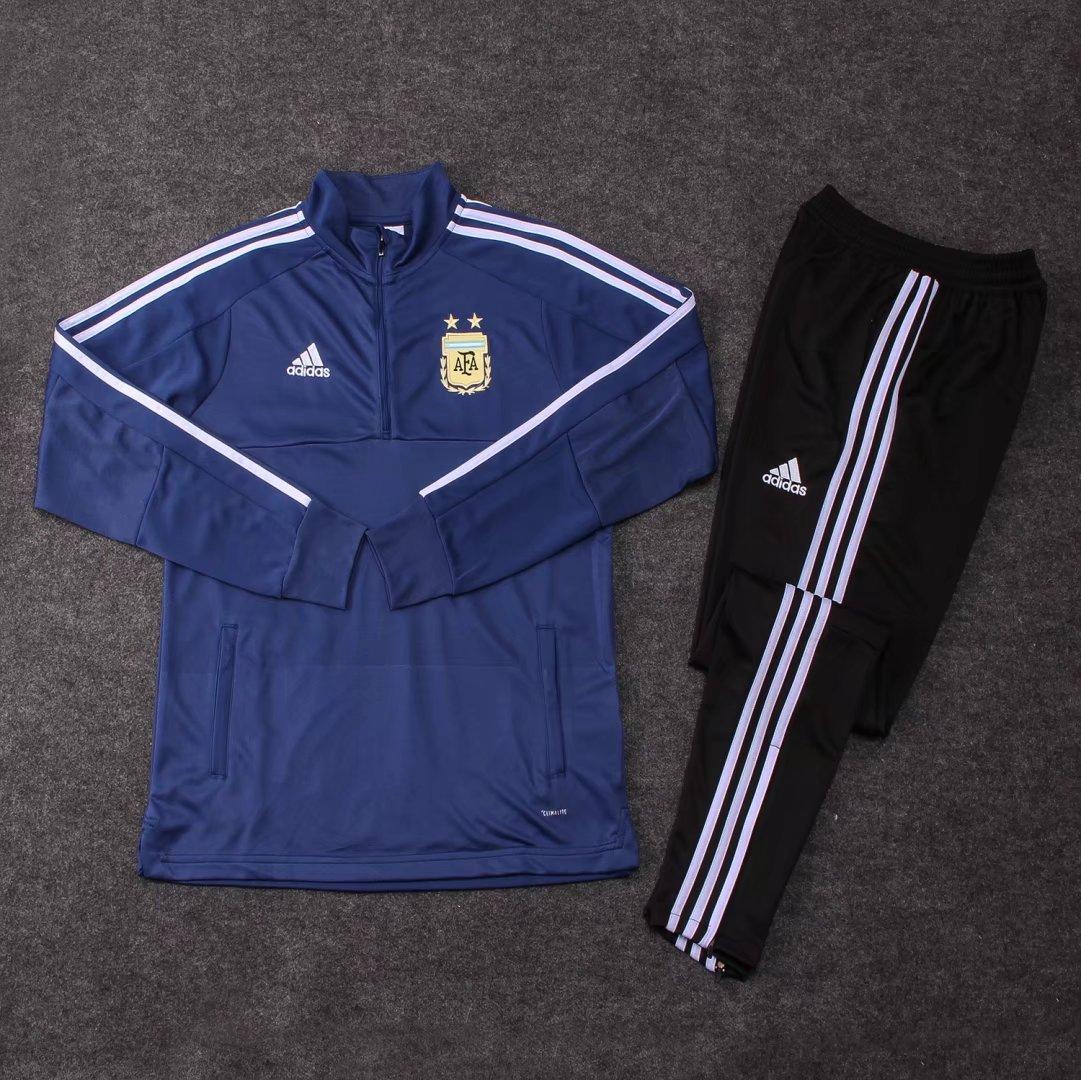 Костюм тренировочный сборной Аргентины синий