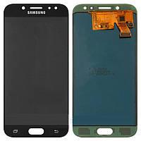 Дисплей для Samsung J530F Galaxy J5 (2017) с сенсором, черный,  TFT, копия