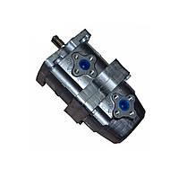 Насос шестеренный НШ-10-10-3Л сдвоенный рулевого управления трактора Т16,СШ 2540