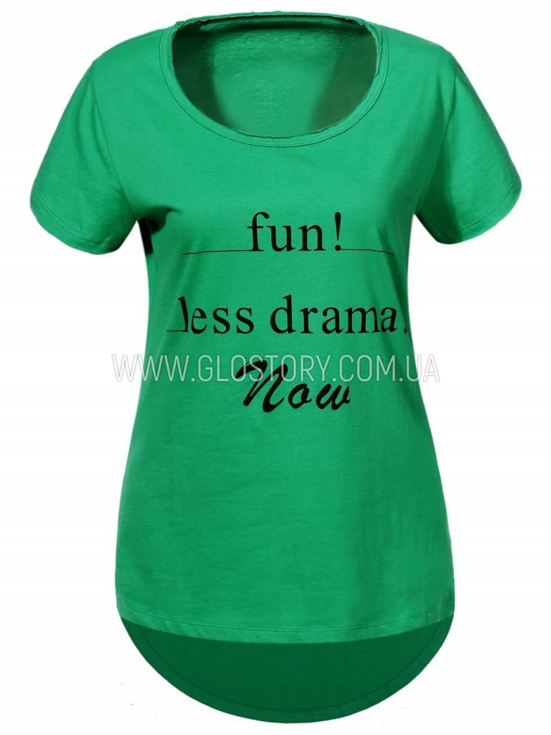 Женская футболка GLO-Story,Венгрия