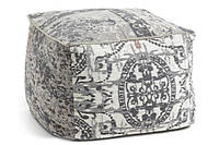 Пуф AA0682J03 - LANAI Pouf 60x60x40 см серый Laforma -- Наличие в Киеве купить Скидки Наличные, с НДС
