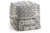 Пуф AA0684J15 - LANDI Pouf 40x40x40 см серый Laforma -- Наличие в Киеве купить Скидки Наличные, с НДС