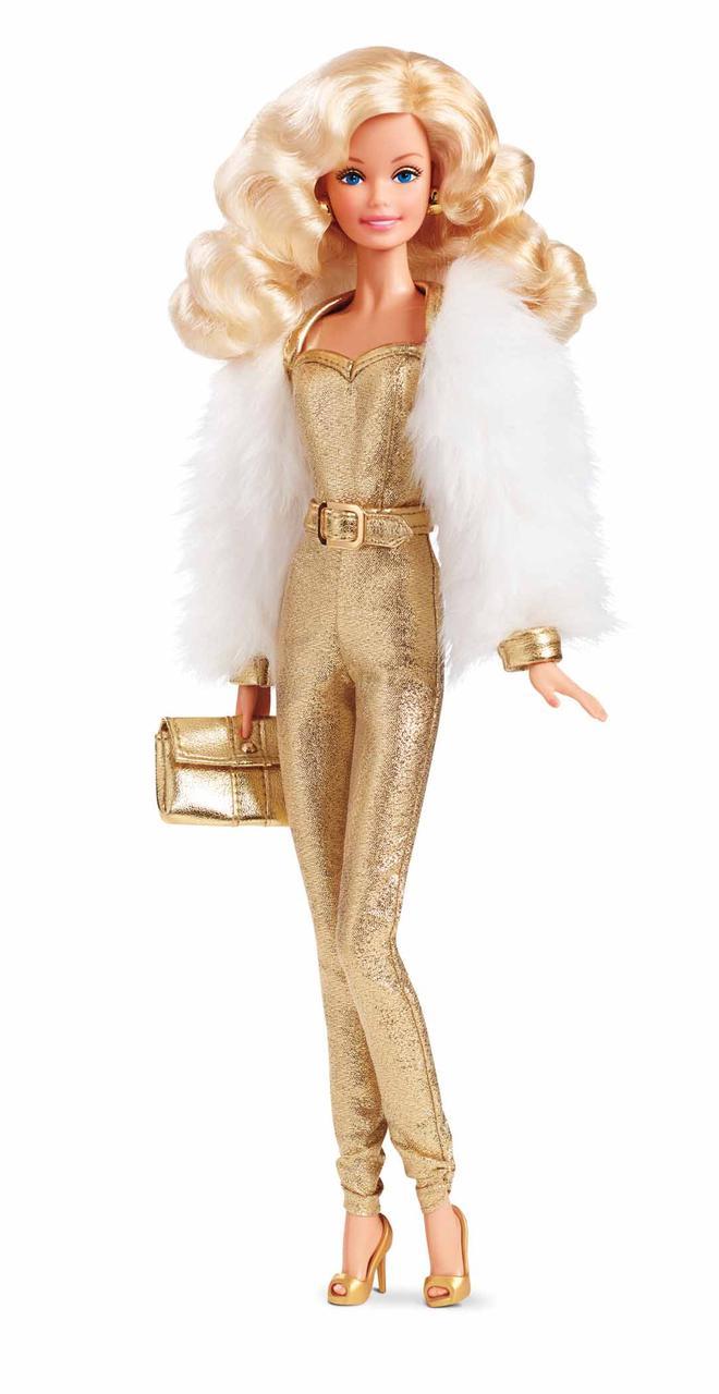 Коллекционная Барби Золотая мечта Barbie Golden Dream mattel DGX88  (Индонезия)