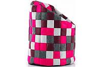 Пуф POPS (ткань серо-фиолетовая) Laforma -- Наличие в Киеве купить Скидки Наличные, с НДС