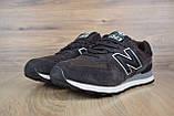 Чоловічі кросівки в стилі New Balance 574 коричневі, фото 3