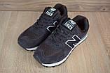 Чоловічі кросівки в стилі New Balance 574 коричневі, фото 7