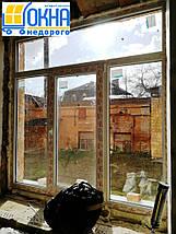 Трехстворчатые окна с фрамугой imperial /1800*1700/, фото 2