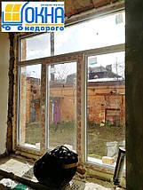 Трехстворчатые окна с фрамугой WDS Galaxy /1800*1700/, фото 3