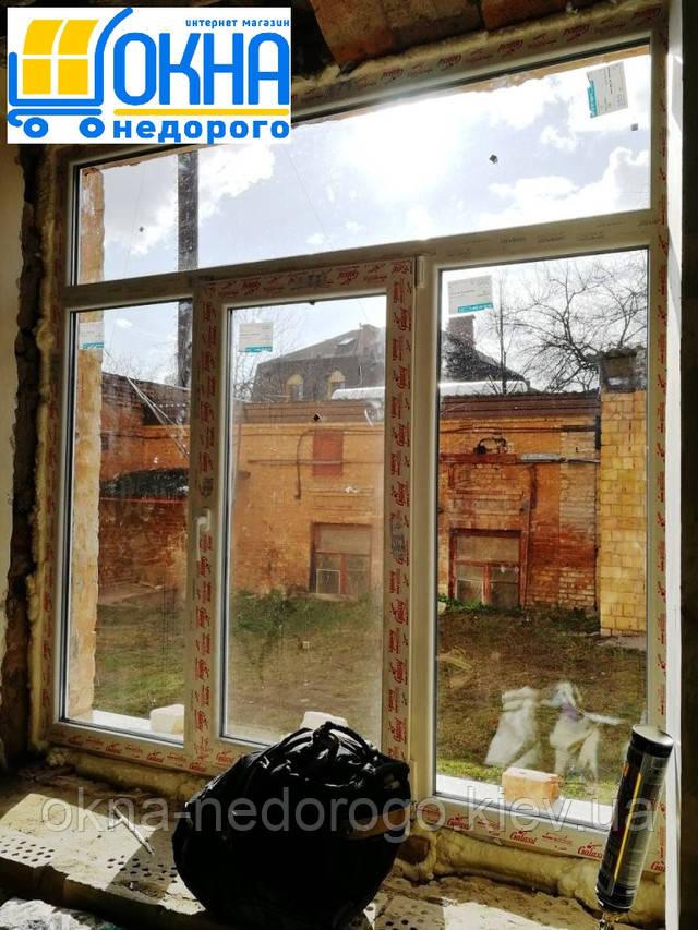 Пластиковые окна WDS Galaxy Киев ул. Пуще-Водницкая 19