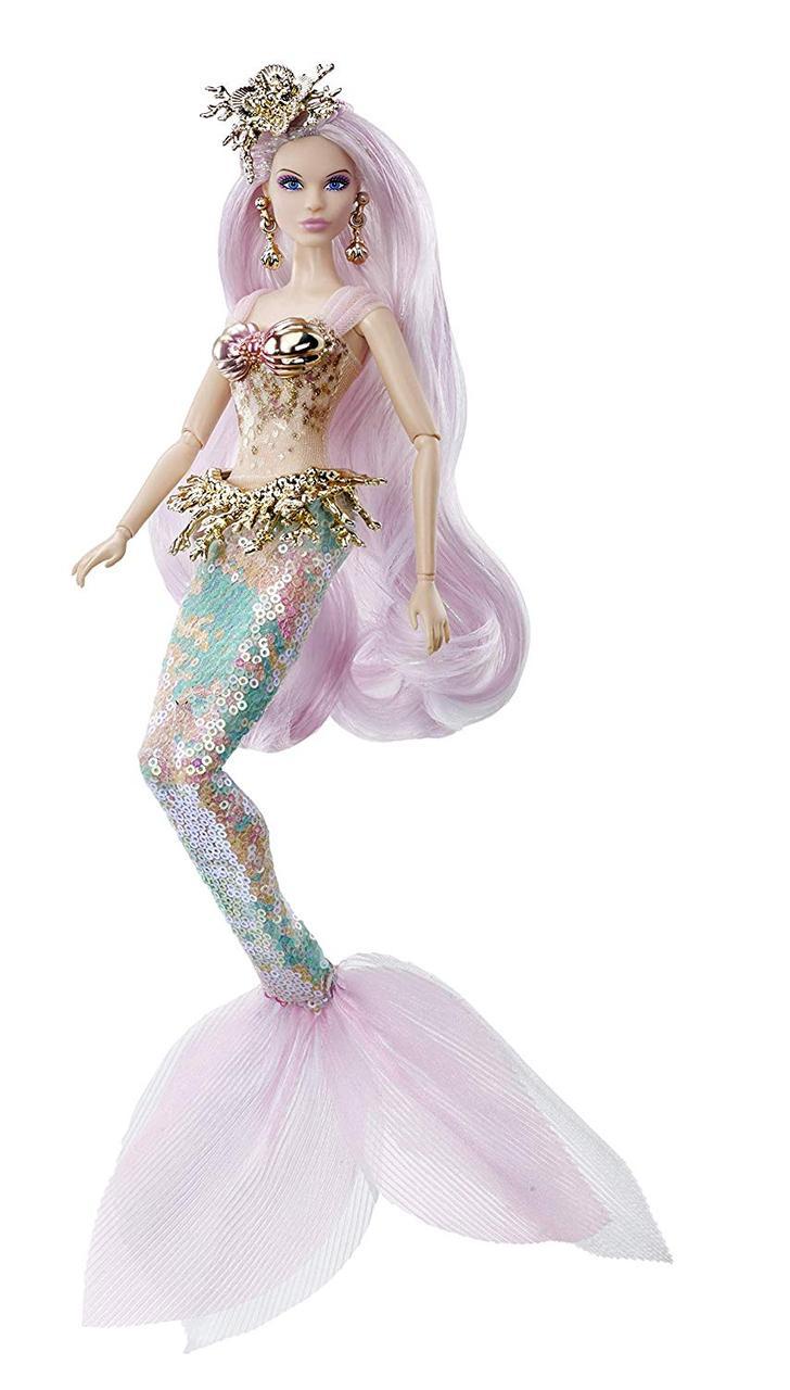 Коллекционная кукла барби Русалка волшебница Barbie Mermaid Enchantress Doll