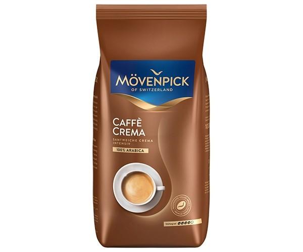 Кофе зерновой Movenpick Crema 1000 g x 6 шт в ящике
