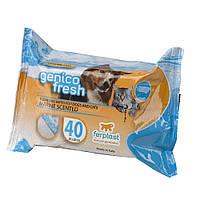 Салфетки Genico Fresh, морской бриз