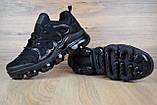 Чоловічі кросівки Air VaporMax Plus, чорні, фото 4