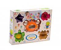 Набор игрушек для ванной с термометром (оранжевый)