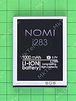Аккумулятор Nomi i283 1000mAh, Оригинал