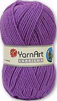 Пряжа для вязания YarnArt Charisma (Харизма) шерсть 9561 фиолет
