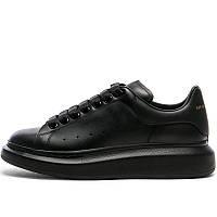 Кроссовки мужские Alexander McQueen (черные) Top replic