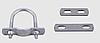 Скоба U-образная, Хомут U-образный, Хомут У-образный, Хомут DIN3570