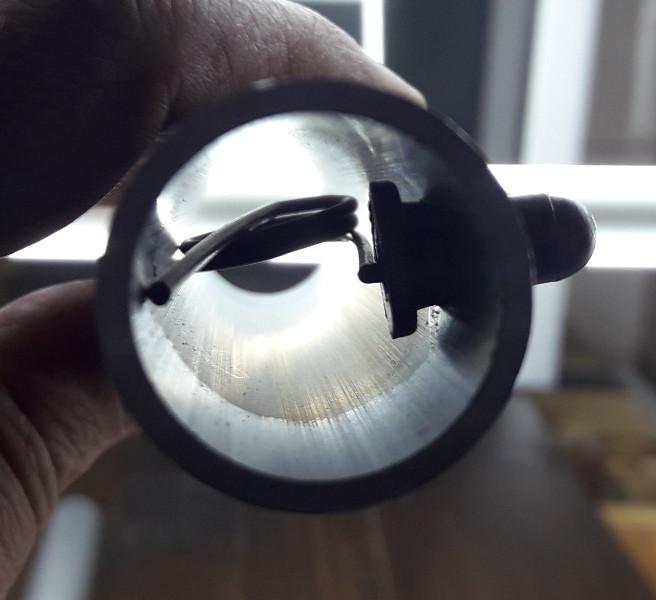 "Пружина одинарная для кнопки фиксатора (крепление ""труба в трубе"") Д-20мм"