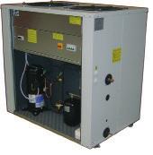 Воздухоохлаждаемый компрессорно-конденсаторный блок EMICON MCE 361 Kc со спиральными компрессорами