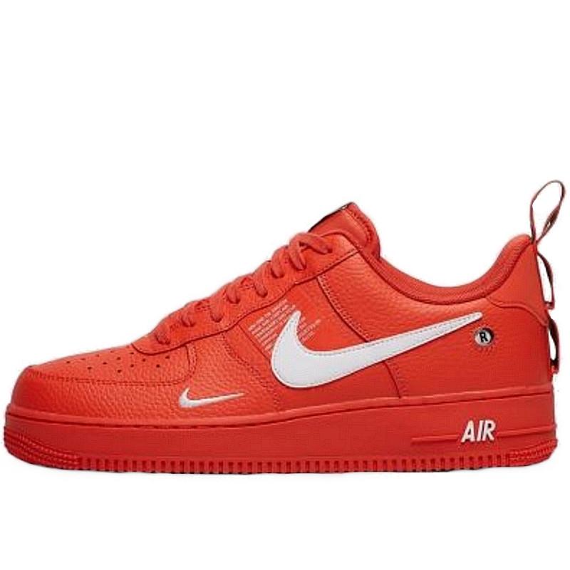 Кроссовки мужские Nike Air Force 1 '07 (красные) Top replic