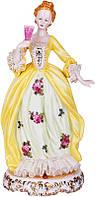 Статуэтка Девушка в желтом платье