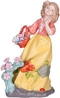Статуэтка Девочка с цветами