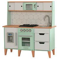 KidKraft Детская кухня с системой легкого складывания 53432 Mid-Century Modern