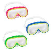 Детская маска для плавания BestWay 22054 (3 цвета, 3-6 лет)